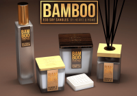linea bamboo heart home